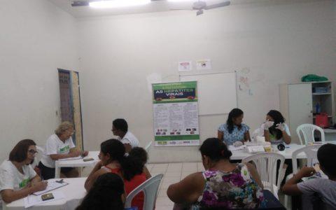 NAPHE realiza testagem em Santo Amaro no dia 30/11/2018.