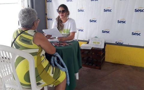 NAPHE realiza testagem rápida para as Hepatites no SESC de Casa Amarela.