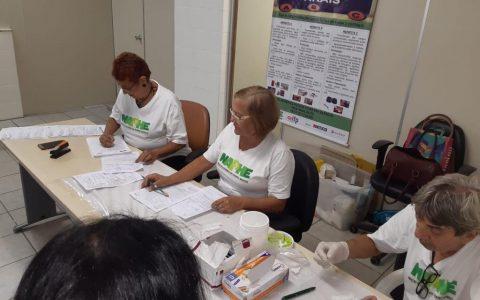 NAPHE realiza testagem rápida para as Hepatites na Casa da Justiça no Bongi